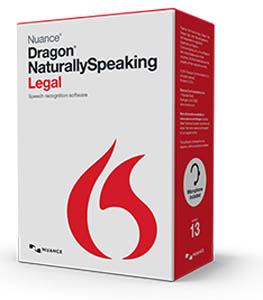 Dragon NaturallySpeaking Legal Edition Version 13