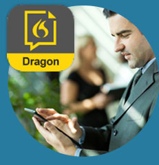 Dragon Anywhere mobile app