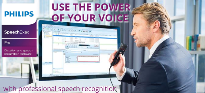 Philips SpeechExec Pro X voice recognition