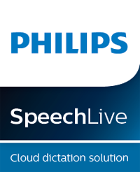 Philips SpeechLive cloud dictation
