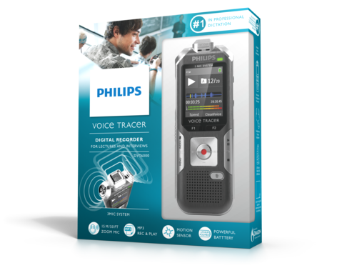 Philips Voice Tracer Lecture & Interview Recorder