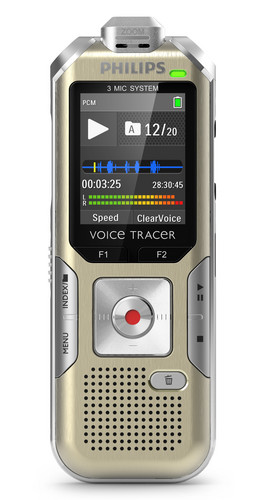 Philips Voice Tracer Music Recorder